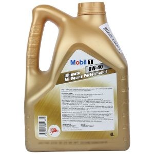 Mobil 1 0W-40 Advanced Fully Synthetic Motor Oil 4L Pack